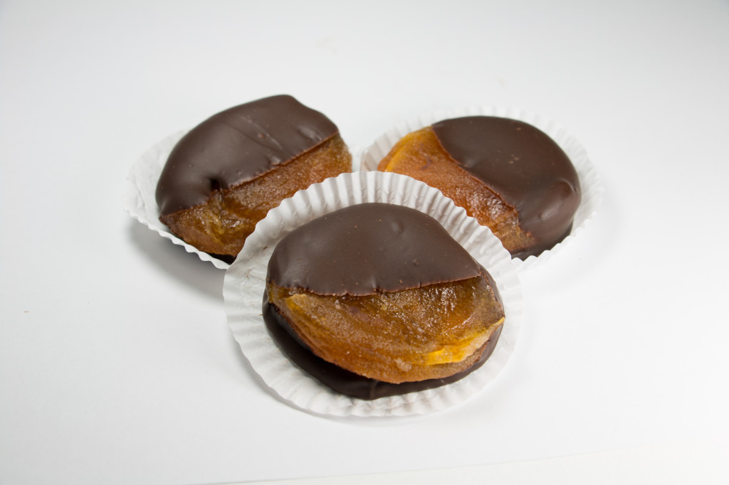Half-Dipped Apricots