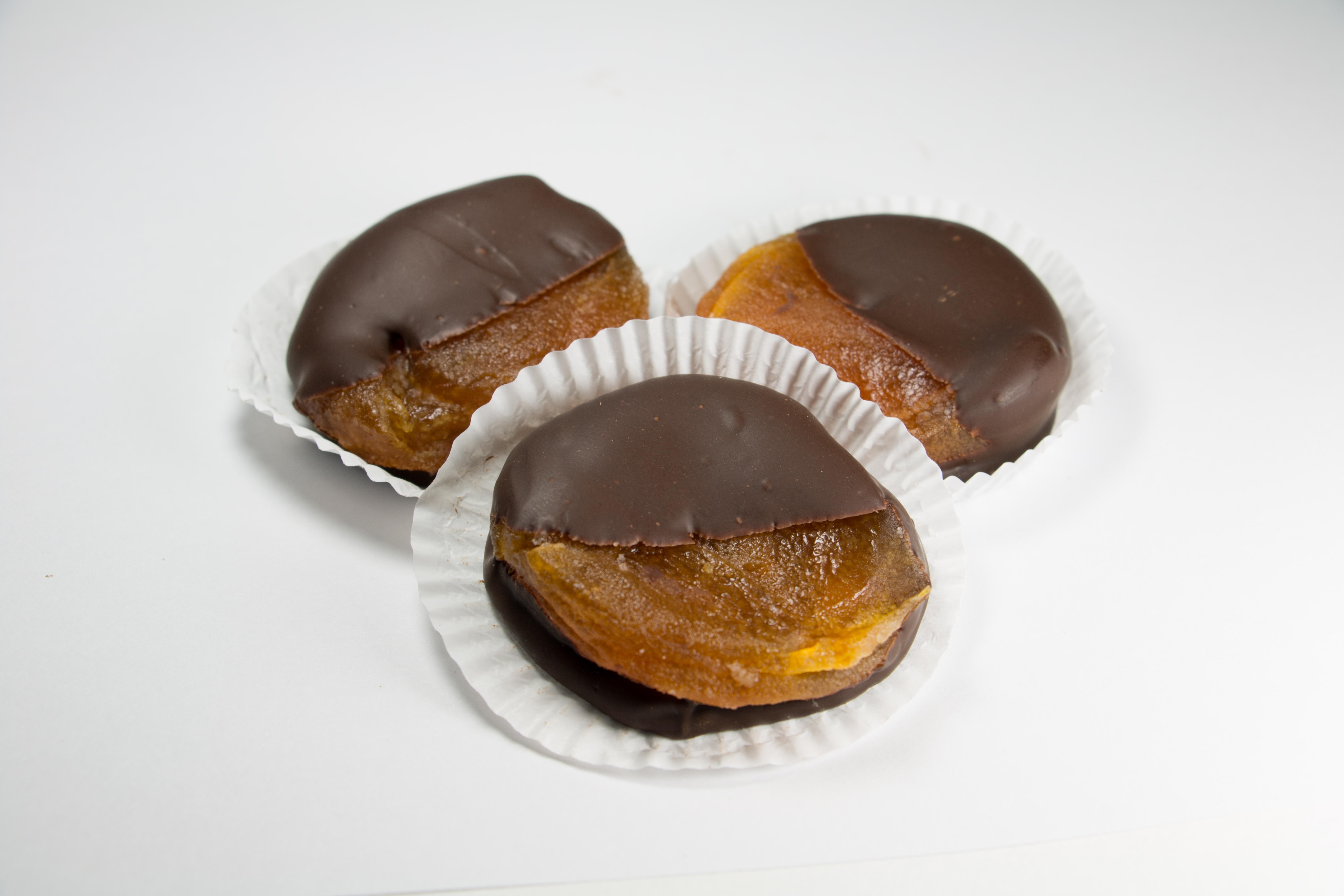 Half Dipped Apricots