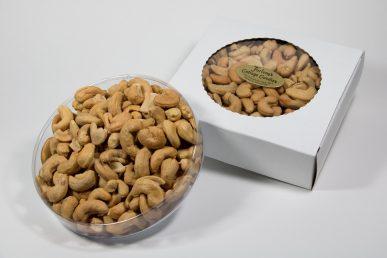 Jumbo Cashews – Salted & Unsalted