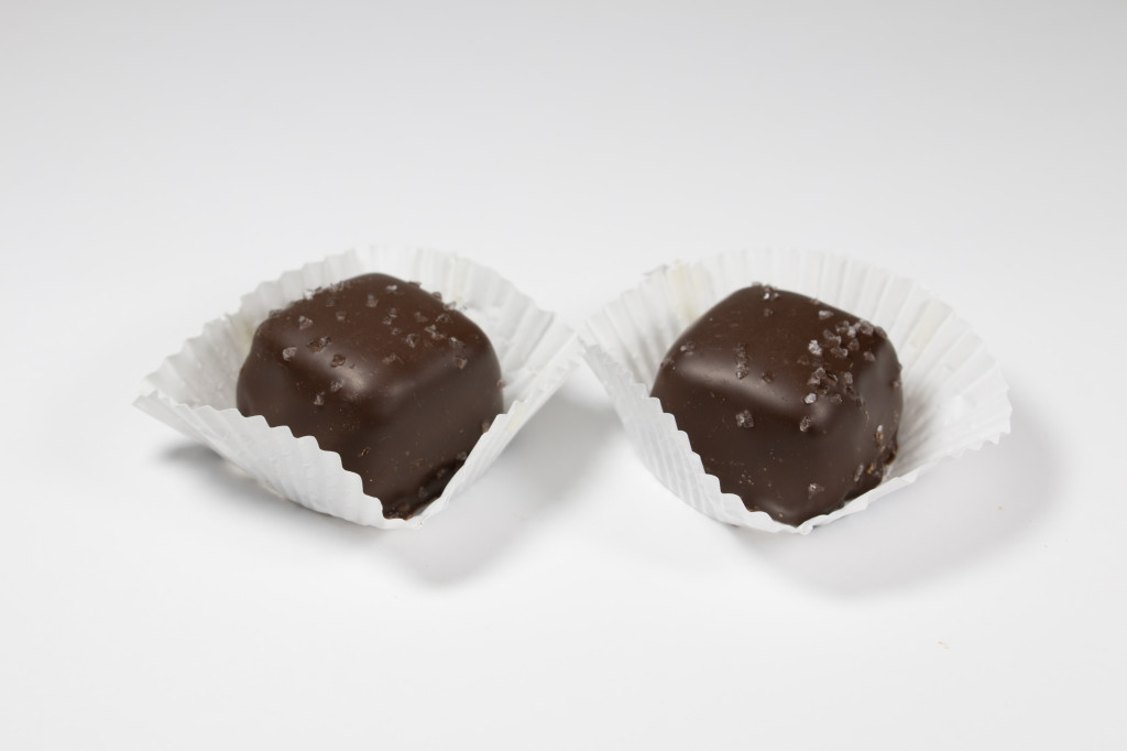 Sea Salt Caramels – Dark