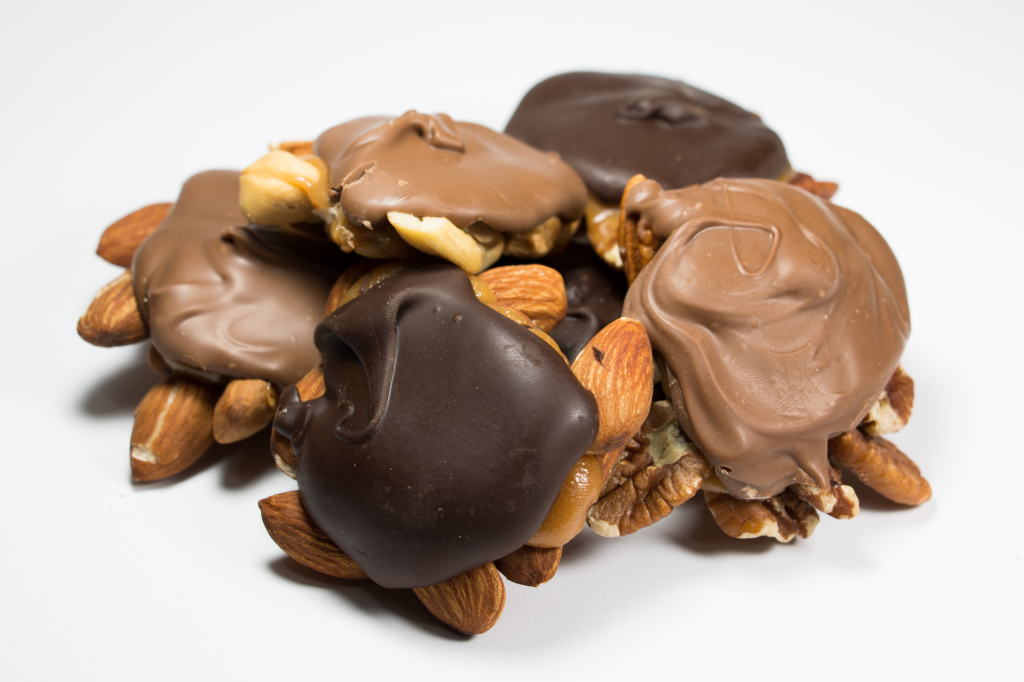 Chocolate Nut Patties (Turtles)
