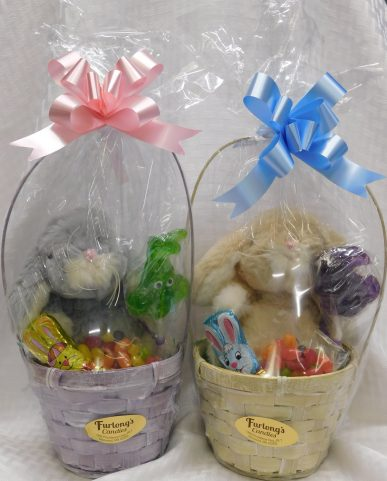 Small Basket with Bunny